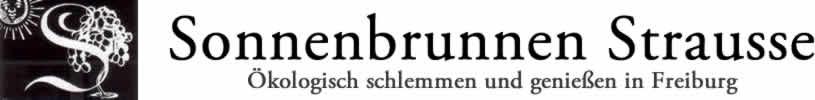 Sonnenbrunnenstrauße Freiburg
